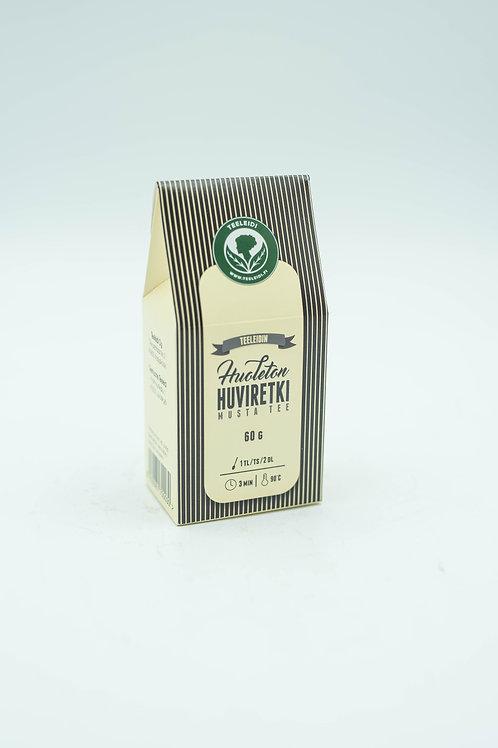 Huoleton Huviretki - musta tee