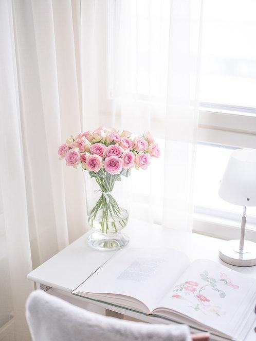 Kukkakimppu Ruusu (useita värejä)