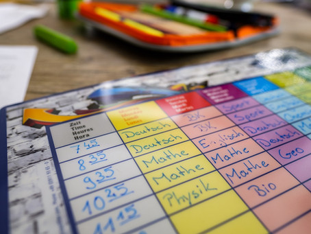 Does Having a Study Timetable Work? Four Tips to Improve Study Timetables