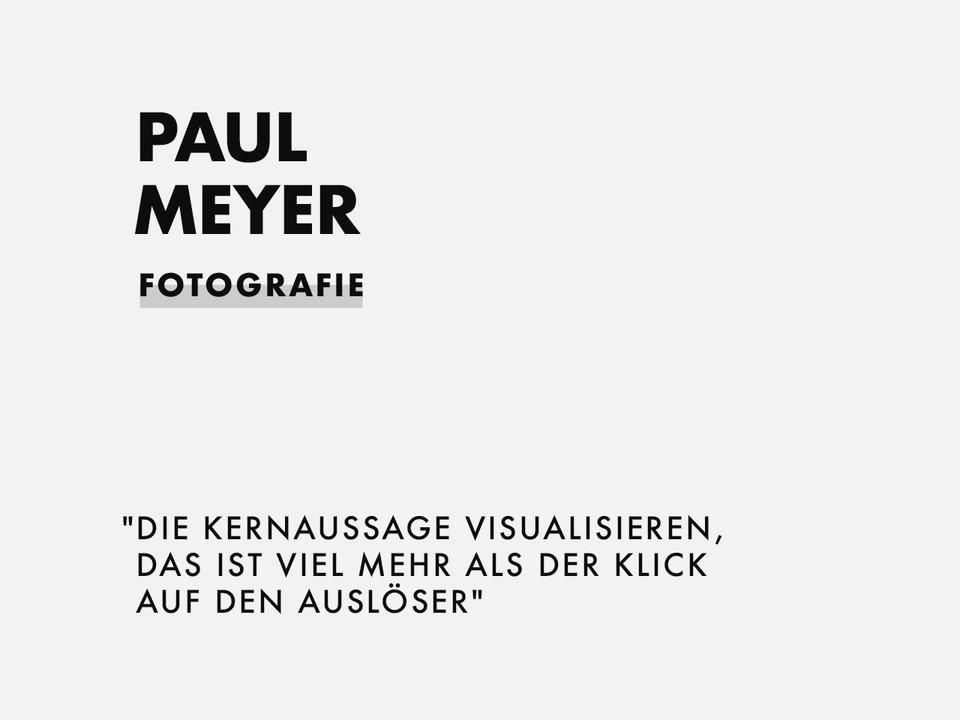 PAUL MEYER | FOTOGRAFIE