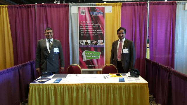 2015 Eastern MSDC booth