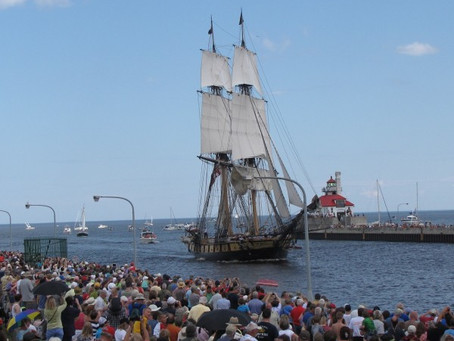 Tall Ships return to Duluth in August 2016
