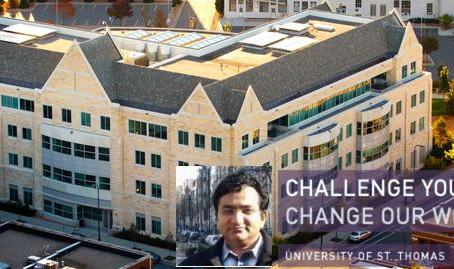 University of St. Thomas Alumni Magazine Article