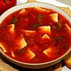 Tomato Basil with Raviolini