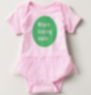 Where Kissing Leads Baby Onesie