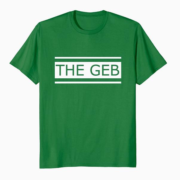 The Geb Band logo on Men's T Shirt