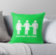 United We Pee Throw Pillow