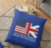 Let's Make America Great Britain Again Throw Pillow
