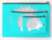 Tiquismiquis Hedgehog Pouches