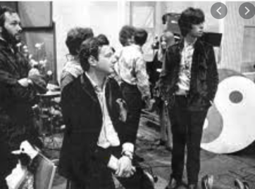 Brian Epstein and Tony Bramwell [R]