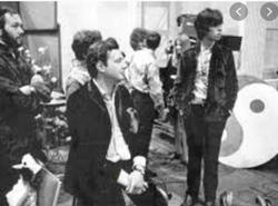 Brian Epstein and Tony Bramwell [R]