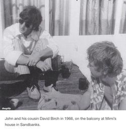 David with John