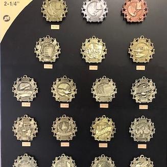 Ten Star Medal - $3.50