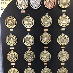 Galaxy Medal - $3.50