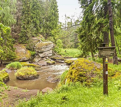 turistické stezky Horní Falc