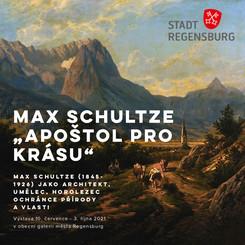 """Výstava Max Schultze """"Apoštol pro krásu"""""""