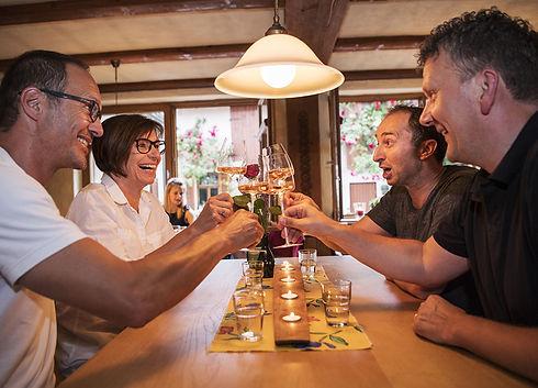 Bavorské víno a klobásy