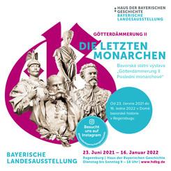 """Bavorská státní výstava """"Götterdämmerung II - Poslední monarchové"""""""