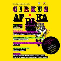 Výstava a hudební koncerty v CIRKUS AFRIKA