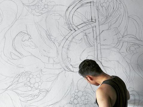 PROCESS / Mural - Asilo
