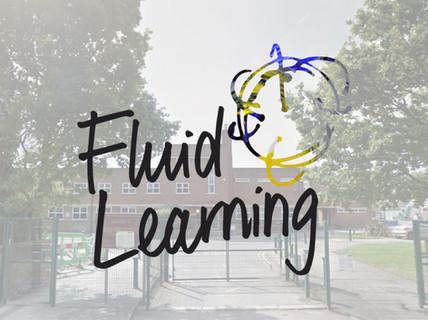 Fluid Learning Logo & Visual