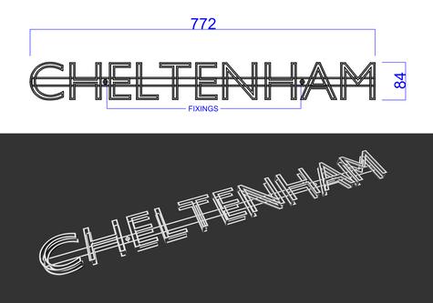 Chelthenham Signage