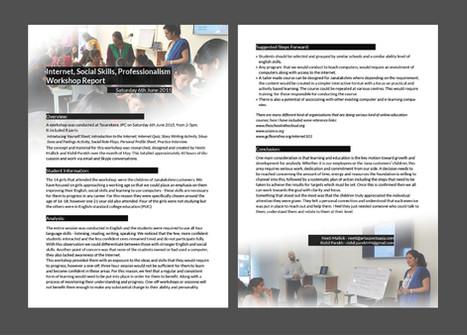 Jana Foundation Workshop Report