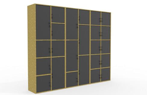 WorkShop Lockers V2 Render