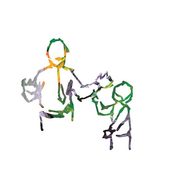 Fluid Learning Illustration - Teaching