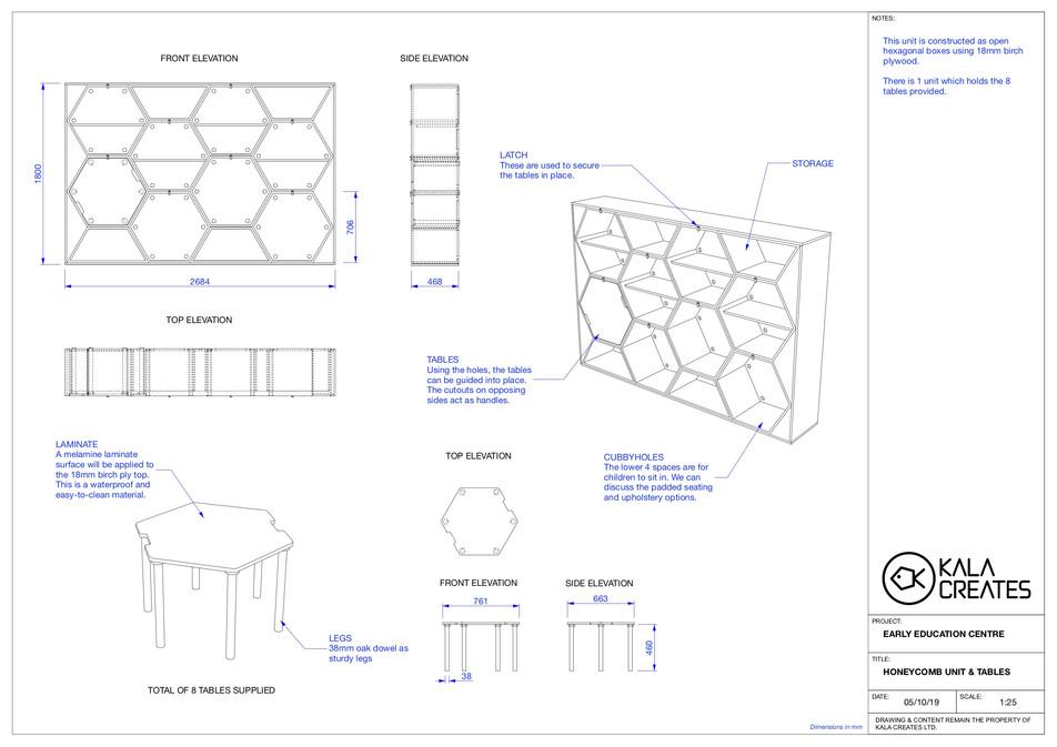 Honeycomb Unit