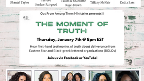 """On Jan. 7th tune in for """"The Moment of Truth"""""""