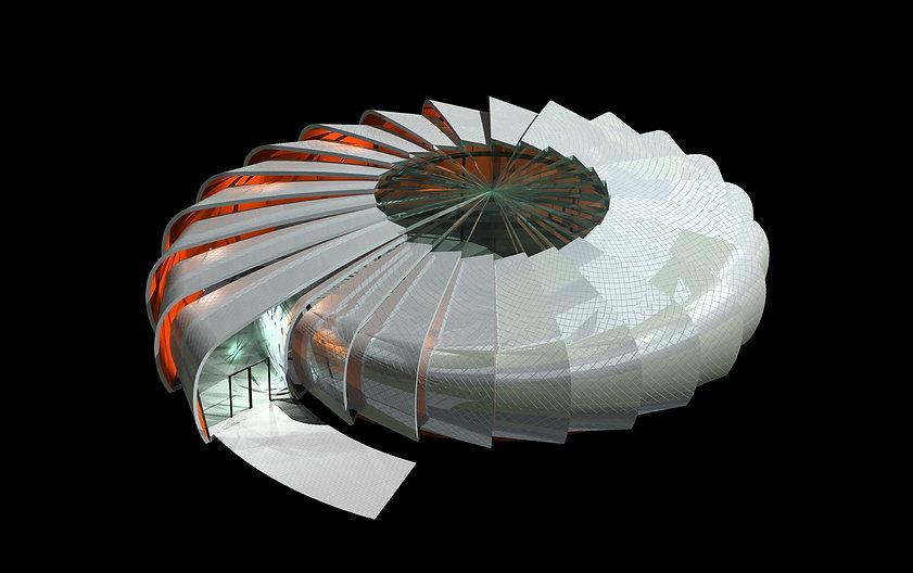 Future Engine Exhibition Pavilions