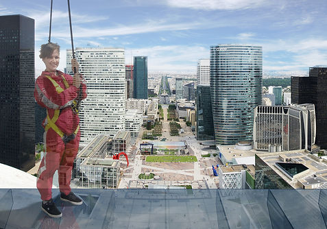 La Grande Arche Roofwalk, Paris
