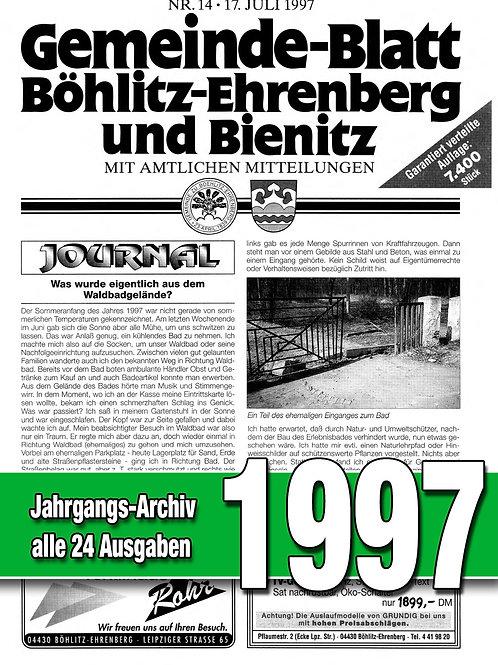 Gemeinde-Blatt Jahrgangs-Archiv 1997