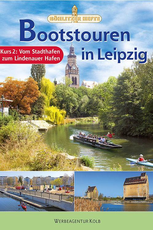Bootstouren in Leipzig - Kurs 2: Vom Stadthafen zum Lindenauer Hafen