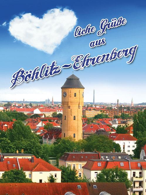 """Postkarte """"Herzliche Grüße aus Böhlitz-Ehrenberg"""""""