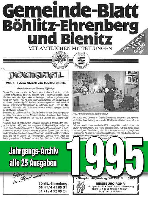 Gemeinde-Blatt Jahrgangs-Archiv 1995