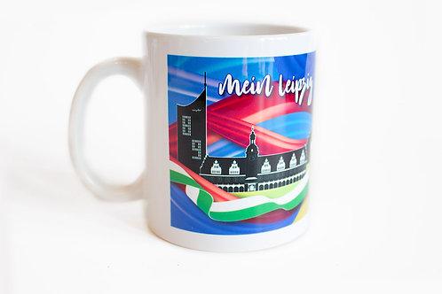 """Tasse """"Mein Leipzig lob' ich mir"""""""