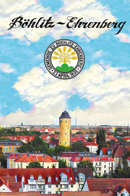 """Wandbild """"Böhlitz-Ehrenberg"""""""