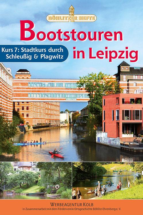 Bootstouren in Leipzig - Kurs 7: Stadtkurs durch Schleußig und Plagwitz