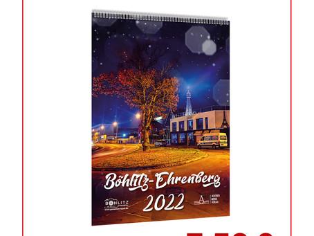 Neu: Wand- & Tischkalender Böhlitz-Ehrenberg