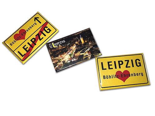 "Kühlschrankmagnet-Set ""Leipzig"""