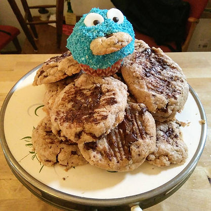 Erdnusscookies vegan