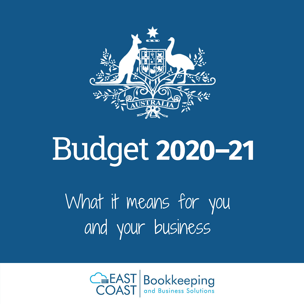 2020-21 Budget, what it means for you and your business. Help with bookkeeping in the Shoalhaven