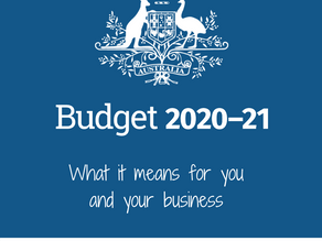 Federal Budget 2020-21 – What it means for you and your business