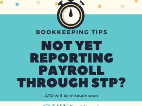 Not Yet Reporting Payroll Through STP?