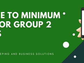 Increase to minimum wage for Group 2 Awards: 1st Nov 2020