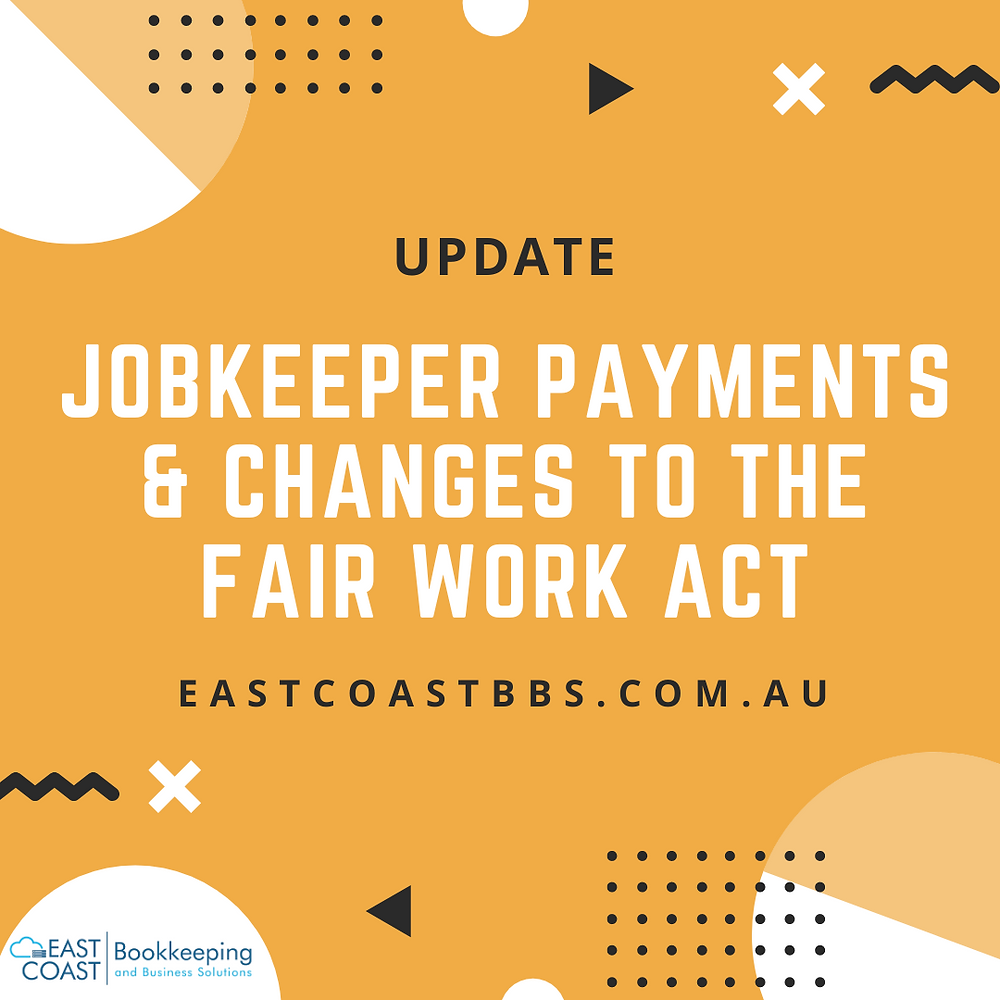 Help with Jobkeeper in the Shoalhaven. Bookeeping advice