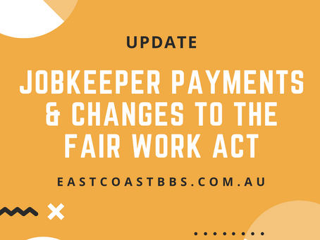 Extension of JobKeeper provisions in the Fair Work Act
