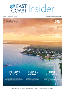 August 2020 East Coast Insider Business Advertising in the Shoalhaven
